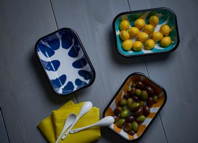 Everyday plates - A Little Color Meze Plates - KAPKA ENAMELWARE