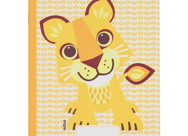 Kids accessories - Notebook A5 48 pages Lion - COQ EN PATE
