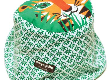 Hats - Children's Tiger Sun Hat - COQ EN PATE
