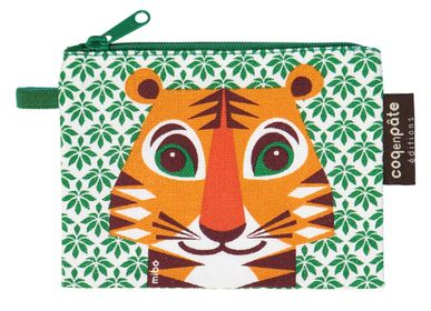 Leather goods - Tiger purse - COQ EN PATE