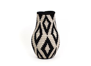 Vases - Black Bulb Vase - ALL ACROSS AFRICA + KAZI