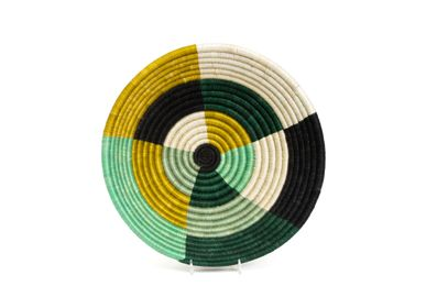 Décoration murale - Grand panier rond Ivy Umuseke 30,5 cm - ALL ACROSS AFRICA + KAZI