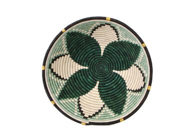 "Wall decoration - 14"" Extra Large Ivy Hope Round Basket - ALL ACROSS AFRICA + KAZI"