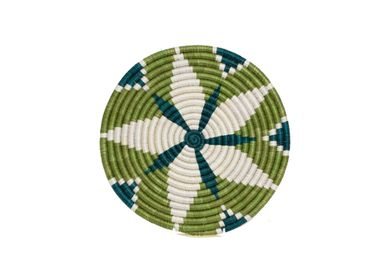 "Placemats - 10"" Pastel Green Trivet - ALL ACROSS AFRICA + KAZI"