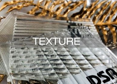 Verre d'art - Texture Surface Glass - DSA ART GLASS (HONG KONG)