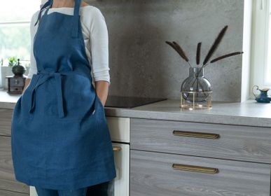 Aprons - Linen apron - RIO LINDO - THINGS THAT INSPIRE