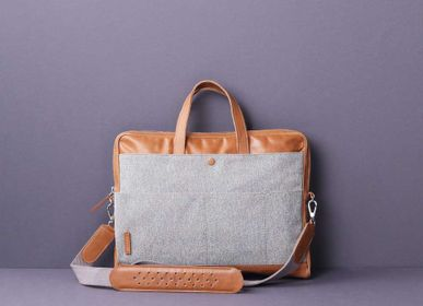 Bags / totes - Kino Work Bag Grey - TAAMAA