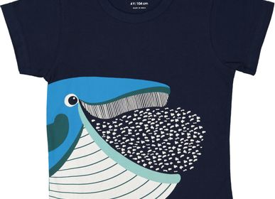 Apparel - Whale Short Sleeves  T Shirt - COQ EN PATE