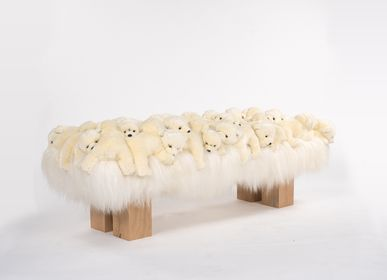 Design objects - Polar wood bench - APCOLLECTION