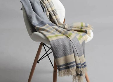 Throw blankets - Moore cashmere throw - SADHU HANDMADE NATURALS