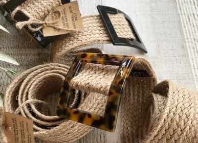 Leather goods - Chic & Natural Jute Belts - &ATELIER COSTÀ