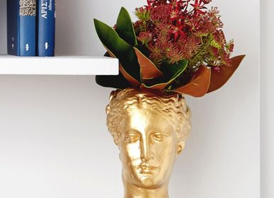 Vases - Hygeia Head Vase - SOPHIA ENJOY THINKING