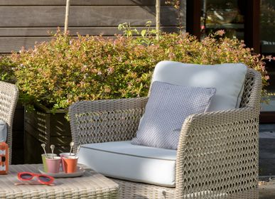 Lawn armchairs - ANTIBES garden armchair - KOK MAISON