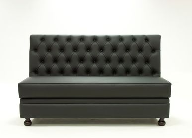 Benches - Regento Bench Contemporain |Bench tufted - CREARTE COLLECTIONS