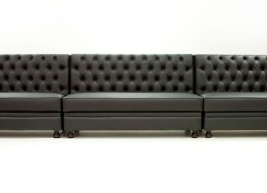 Bancs - Regento Bench Contemporain | Banc capitonné - CREARTE COLLECTIONS
