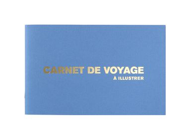 Papeterie - Carnet de Voyage à illustrer Azur - SUPEREDITIONS