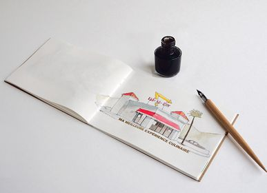 Stationery - Journey diary to illustrate Azur - SUPEREDITIONS