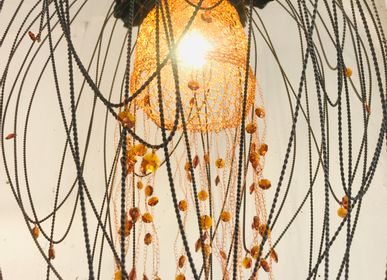 Hanging lights - METAL AND COPPER SUSPENSION - LA LANGUOCHAT