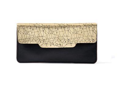 Leather goods - HANAMI wallet - PEAU DE FLEUR