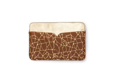 Leather goods - card holder OSHIMA - PEAU DE FLEUR