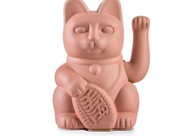 Decorative objects - Maneki Neko / Lucky Cat / Pink  - DONKEY PRODUCTS