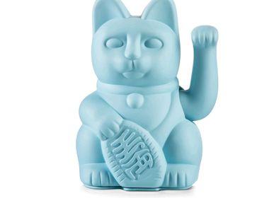 Decorative objects - Maneki Neko/ Lucky Cat / Blue  - DONKEY PRODUCTS