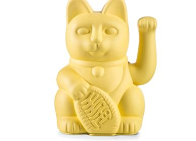 Decorative objects - Maneki Neko / Lucky Cat / Yellow  - DONKEY PRODUCTS