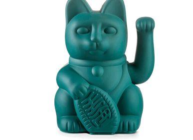 Decorative objects - Maneki Neko / Lucky Cat / Green  - DONKEY PRODUCTS
