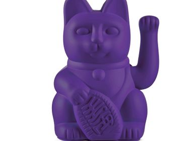 Objets de décoration - Maneki Neko / Chat Lucky / Violet - DONKEY PRODUCTS
