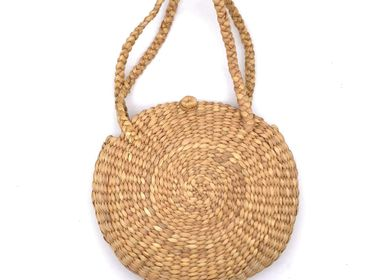 Shopping basket - Basket Hyacinth handle - SARANY SHOP