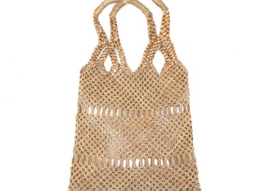 Shopping basket - Jute net - SARANY SHOP - CAMBODGE A PARIS