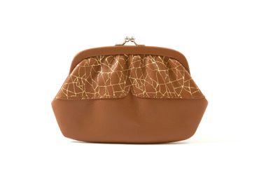 Leather goods - wallet IKEBANA - PEAU DE FLEUR