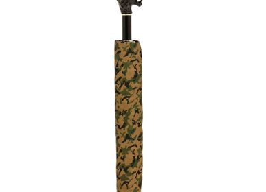 Homewear - CAMOUFLAGE FOLDING UMBRELLA, BLACK LION - PASOTTI