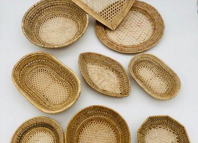 Decorative objects - Vanneries LOM ajouré - rotin - SARANY SHOP - CAMBODGE A PARIS
