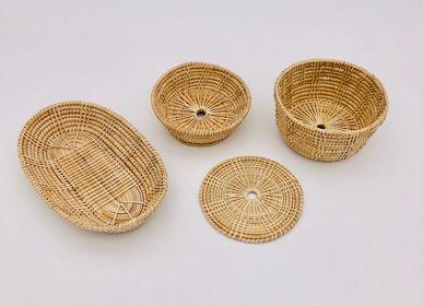 Decorative objects - Basketwork LOM small - SARANY SHOP - CAMBODGE A PARIS