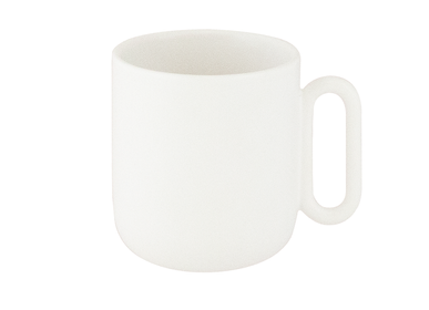 Mugs - Celine Everyday White Mug - CRISTINA RE