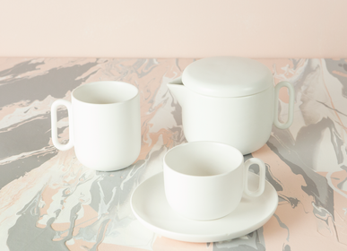 Mugs - Celine Everyday White Mug - CRISTINA RE