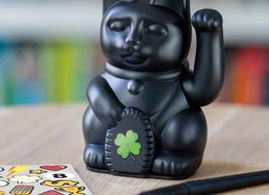 Decorative objects - Maneki Neko / Iconic Cat / Black - DONKEY PRODUCTS