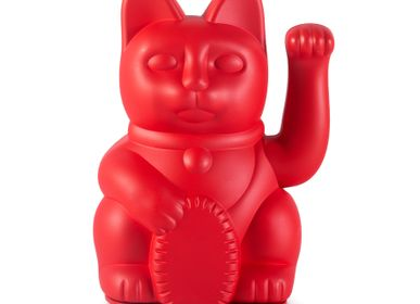 Decorative objects - Maneki Neko / Iconic Cat / Red - DONKEY PRODUCTS