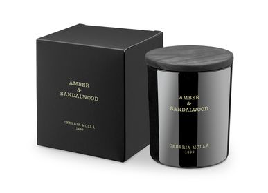 Candles - Premium Candle 230gr. Amber & Sandalwood - CERERIA MOLLA 1899 CANDLES