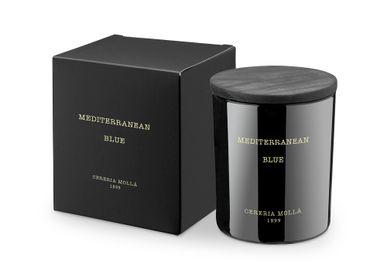 Candles - Premium Candle 230 gr. Mediterranean Blue - CERERIA MOLLA 1899 CANDLES