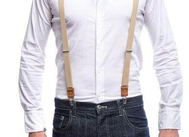 Leather goods - Lilloises Suspenders - VERTICAL L ACCESSOIRE