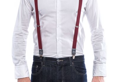 Leather goods - Bordelaises Suspenders - VERTICAL L ACCESSOIRE