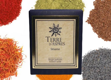 Candles - Sesame Candle - TERRE D'ASPRES BY TERRE D'ORIA