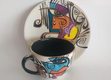 Ceramic - ENIGMA cups&saucers/COCO  - ENIGMA