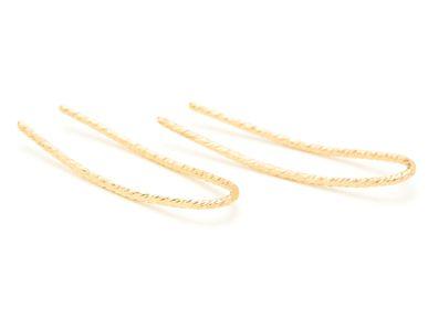 Bijoux - Boucles d'oreilles cuff Eclat - YAY PARIS