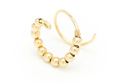 Jewelry - Golden Fruits Double Ring - YAY PARIS