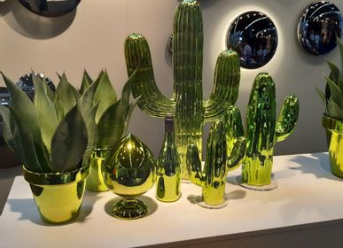Design objects - POTS  and CACTUS   - FUORILUOGO CHROME DESIGN