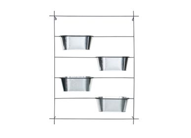 Decorative objects - Metal wall planter AX70038 - ANDREA HOUSE