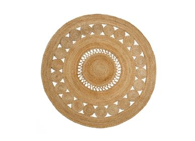 Design - Flower jute rug AX70192 - ANDREA HOUSE